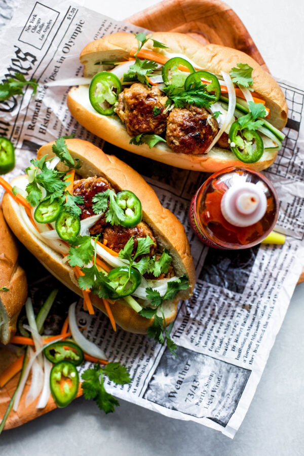 The 45+ BEST Meatball Recipes - Bahn mi.