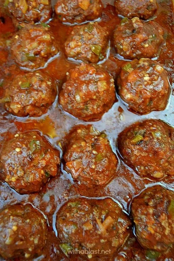 The 45+ BEST Meatball Recipes - Coco-cola meatballs.
