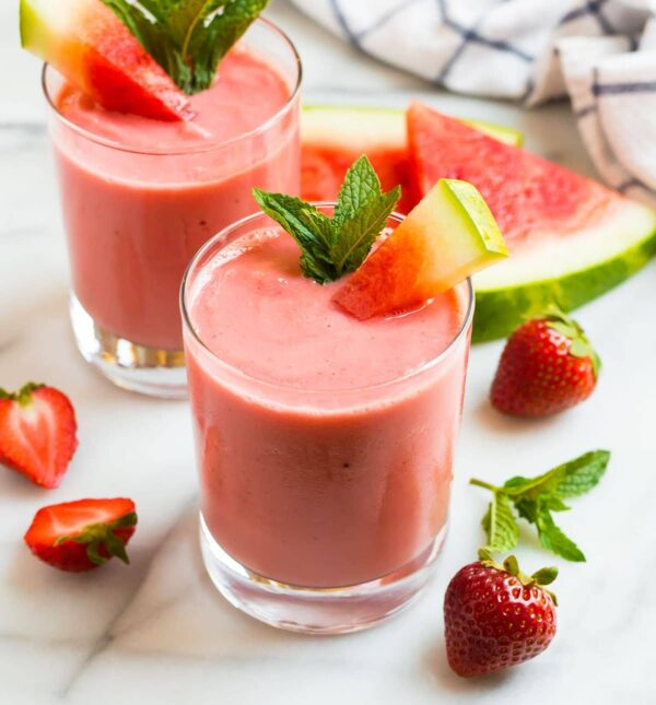 The 35 BEST Smoothie Recipes - watermelon.
