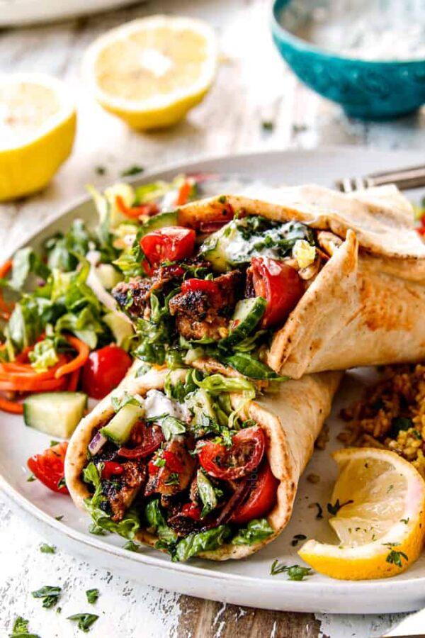 The 35 BEST Pita Recipes - doner kebab.