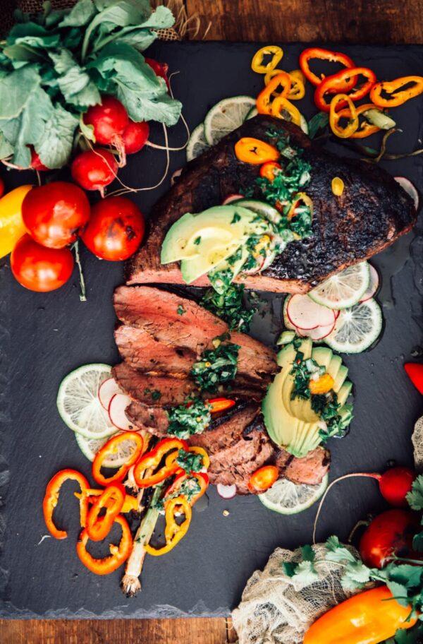 The 40 BEST Steak Recipes - grilled tri tip.