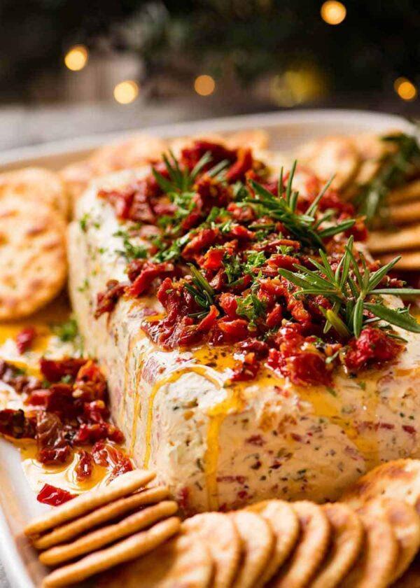 Italian cheese log.