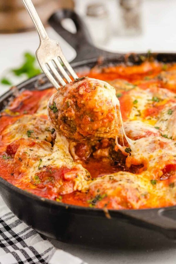 The 45+ BEST Meatball Recipes - Meatball parmesan.