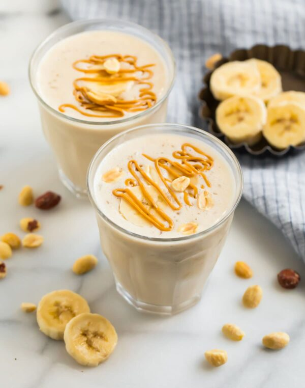 The 35 BEST Smoothie Recipes - peanut butter banana.