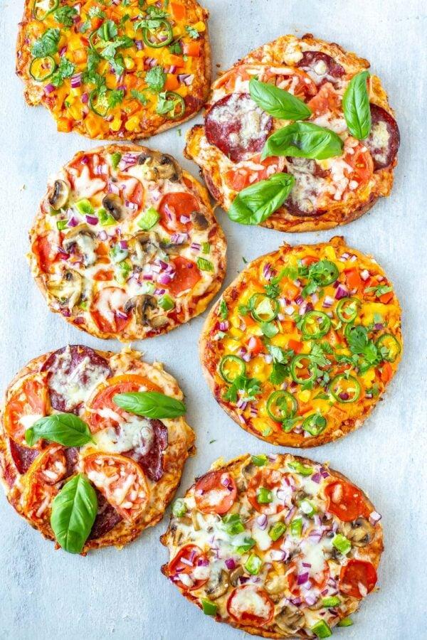 The 35 BEST Pita Recipes - pita pizza.