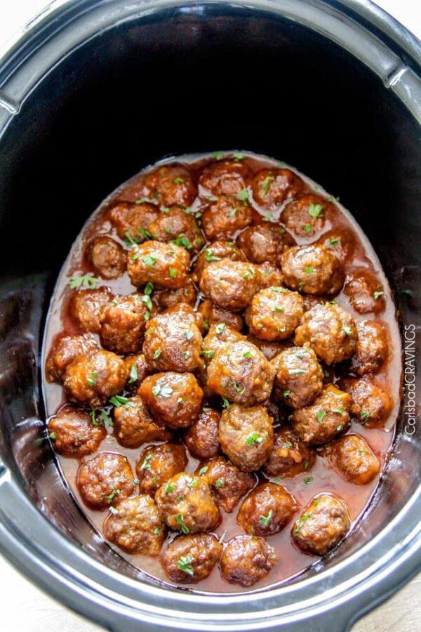 The 45+ BEST Meatball Recipes - Buffalo meatballs.