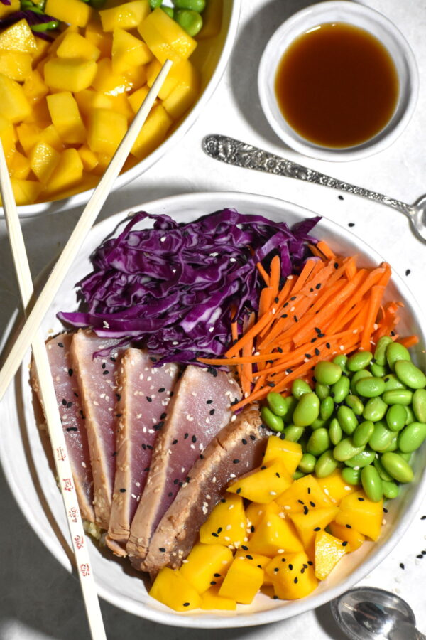 The 30 BEST Quick Dinners - albacore tuna bowl.