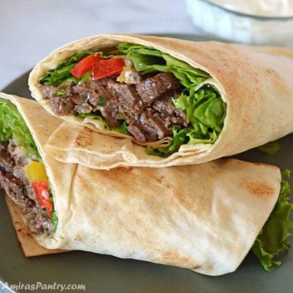 The 35 BEST Pita Recipes - beef shawarma.