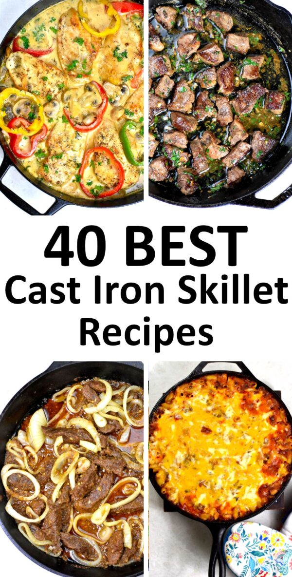 Best cast iron skillet recipes.