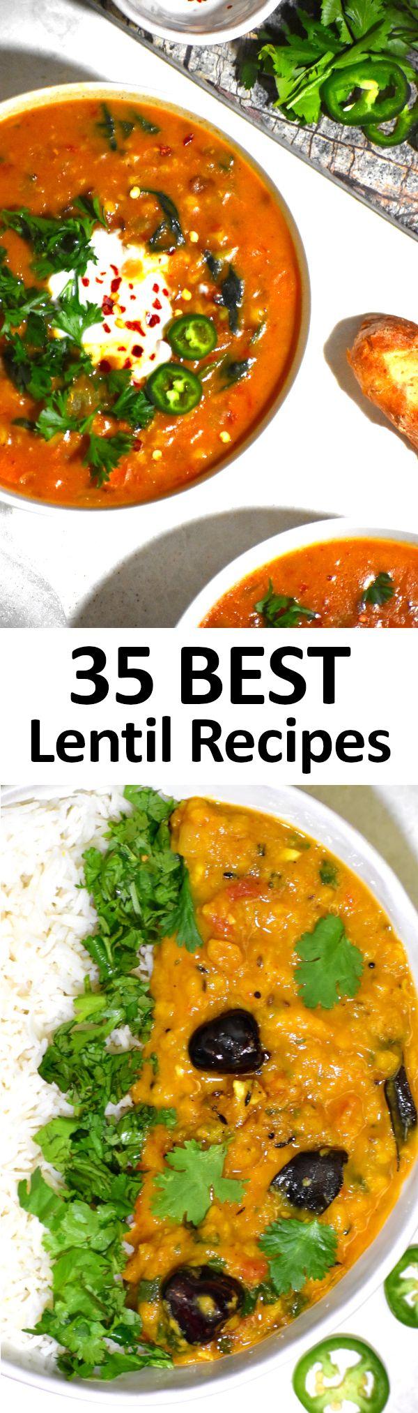 35 BEST Lentil Recipes
