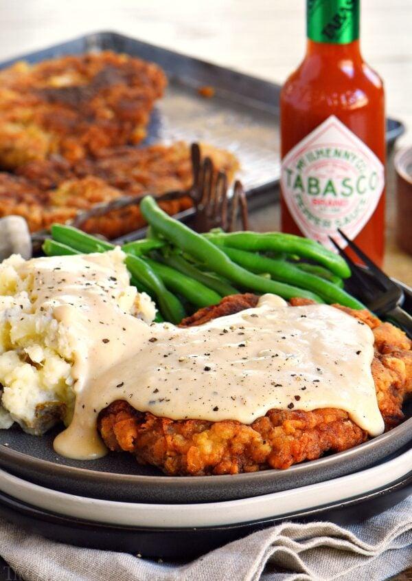 The 40 BEST Steak Recipes - chicken fried.