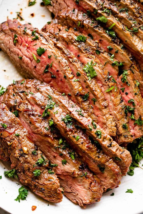 The 40 BEST Steak Recipes - marinated London broil.