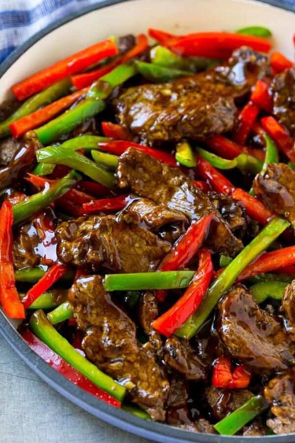 The 40 BEST Steak Recipes - pepper steak.