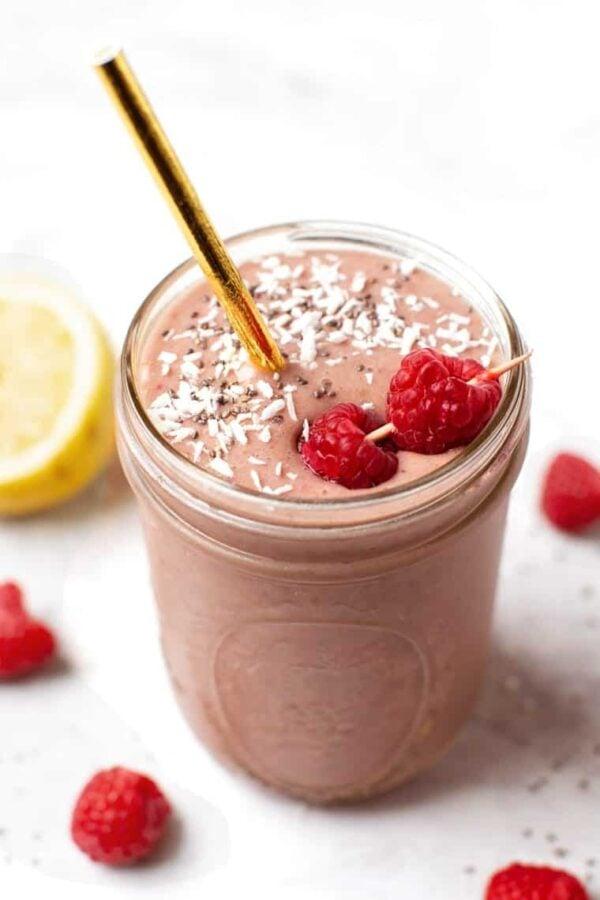The 35 BEST Smoothie Recipes - raspberry.
