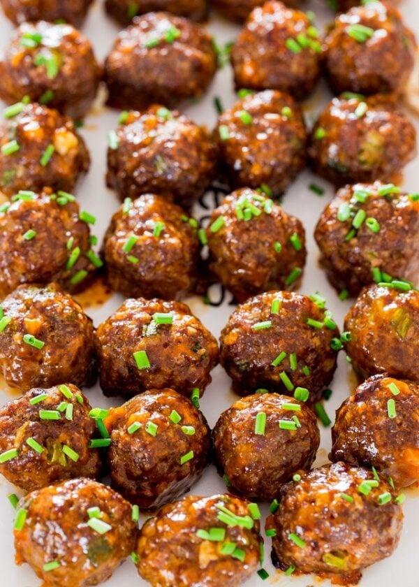 The 45+ BEST Meatball Recipes - Korean meatballs.