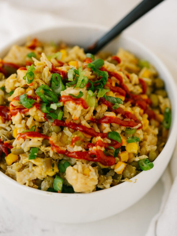 The 20 BEST Canned Chicken Recipes - fried rice.