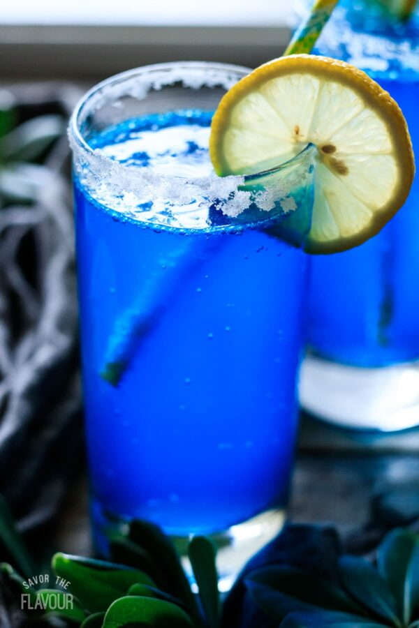 The 30 BEST Mocktail Recipes - blue lagoon.
