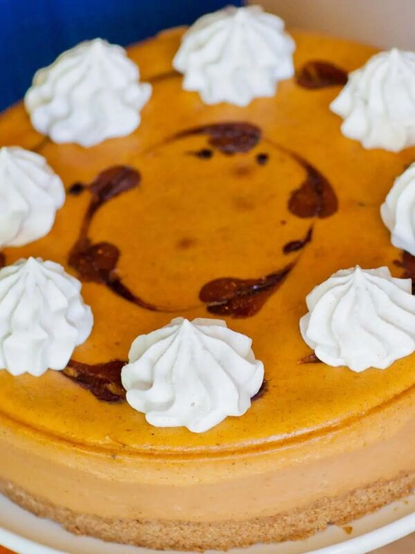The 35 BEST Cheesecake Recipes - caramel pumpkin.
