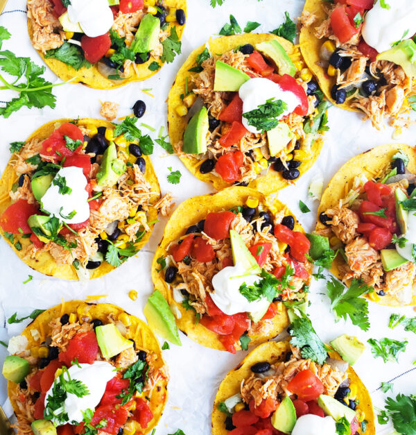The 20 BEST Canned Chicken Recipes - tostadas.