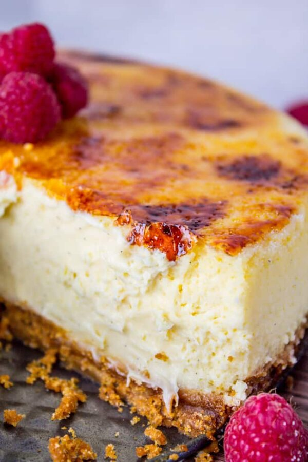 The 35 BEST Cheesecake Recipes - creme brulee.
