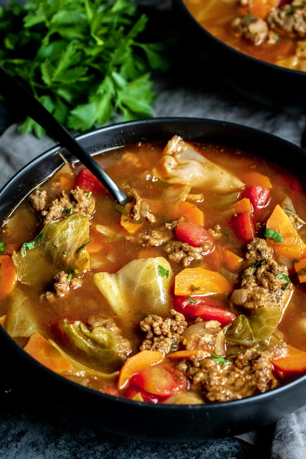 The 35 BEST Instant Pot Recipes - cabbage roll soup.