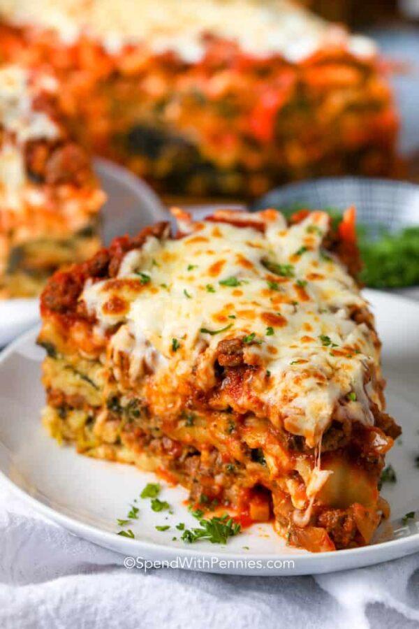The 35 BEST Instant Pot Recipes - lasagna.