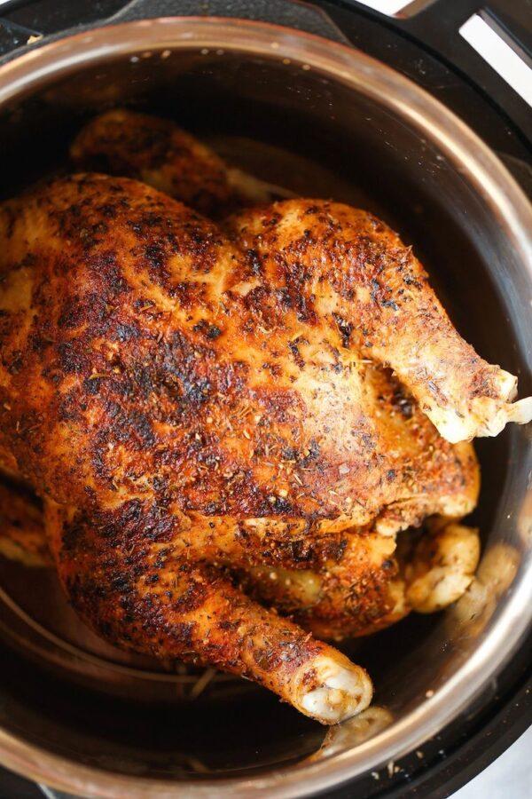 The 35 BEST Instant Pot Recipes - rotisserie chicken.