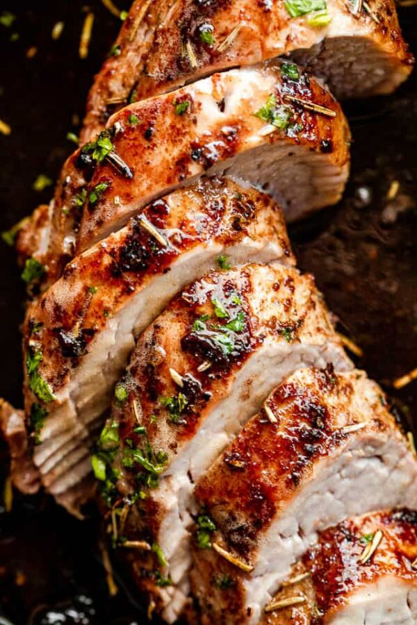 The 35 BEST Instant Pot Recipes - pork tenderloin.