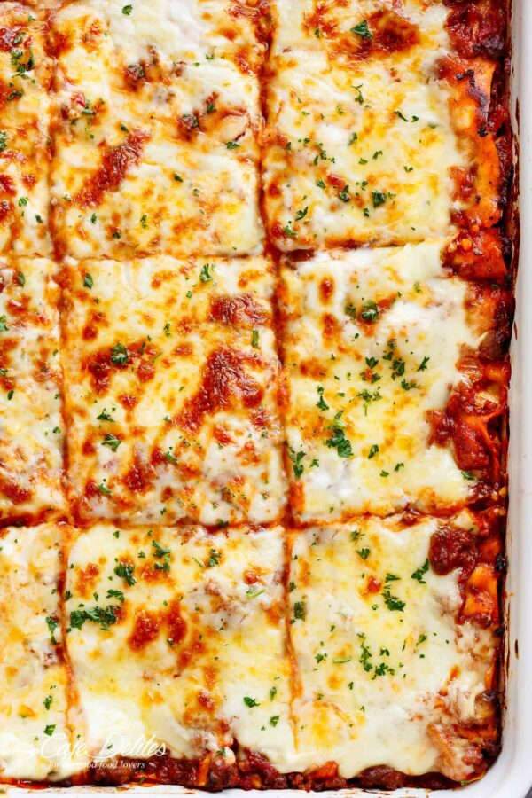 The 35 BEST Ground Pork Recipes - lasagna.