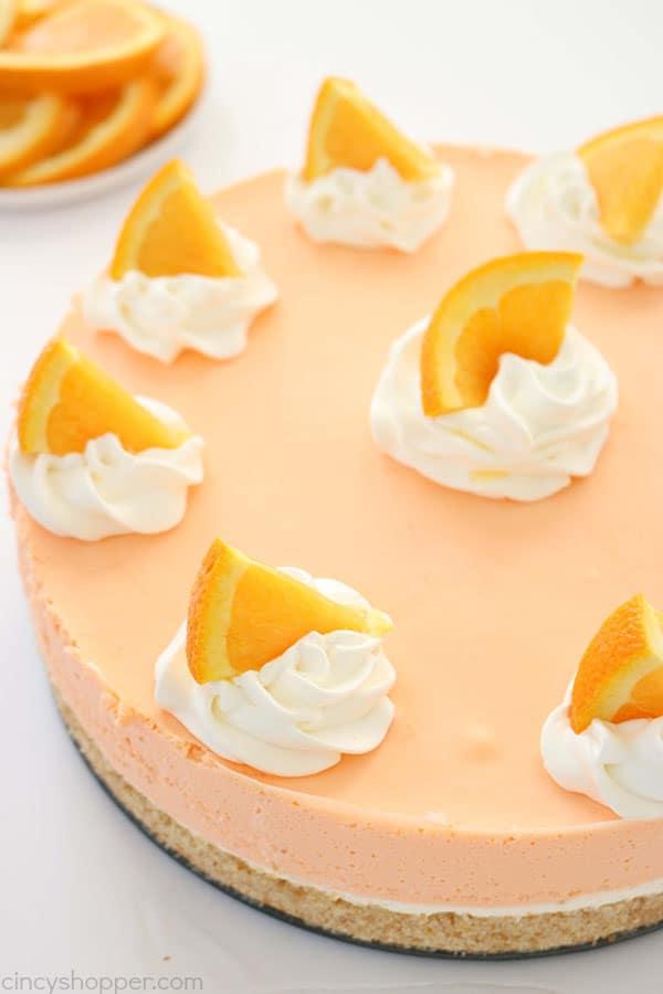 The 35 BEST Cheesecake Recipes - orange creamsicle.