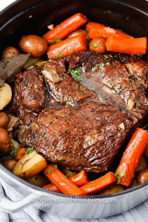 The 30 BEST One Pot Meals - pot roast.