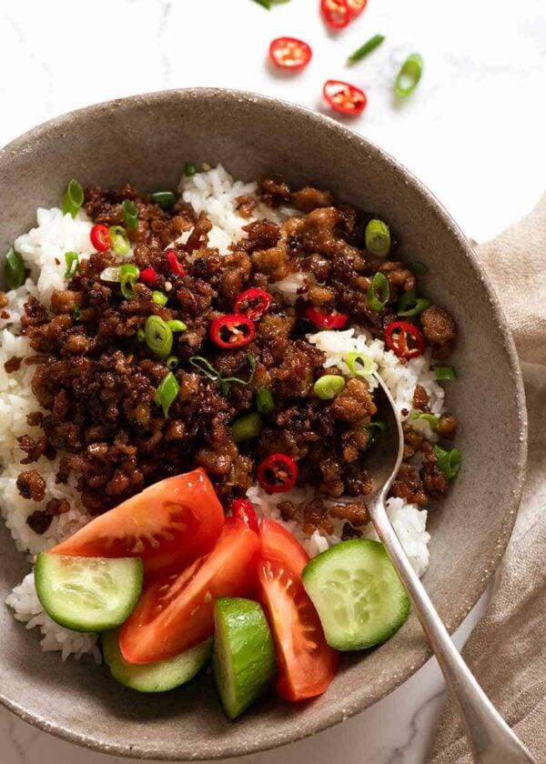 The 35 BEST Ground Pork Recipes - Vietnamese caramelized pork.