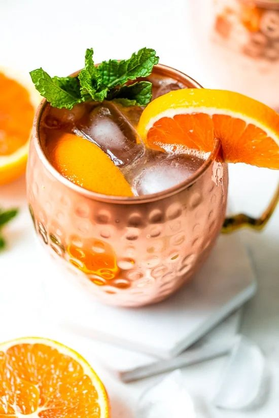 The 30 BEST Mocktail Recipes - Moscow mule.