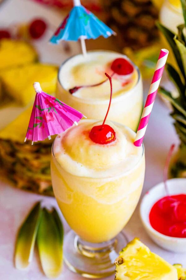The 30 BEST Mocktail Recipes - pina colada.
