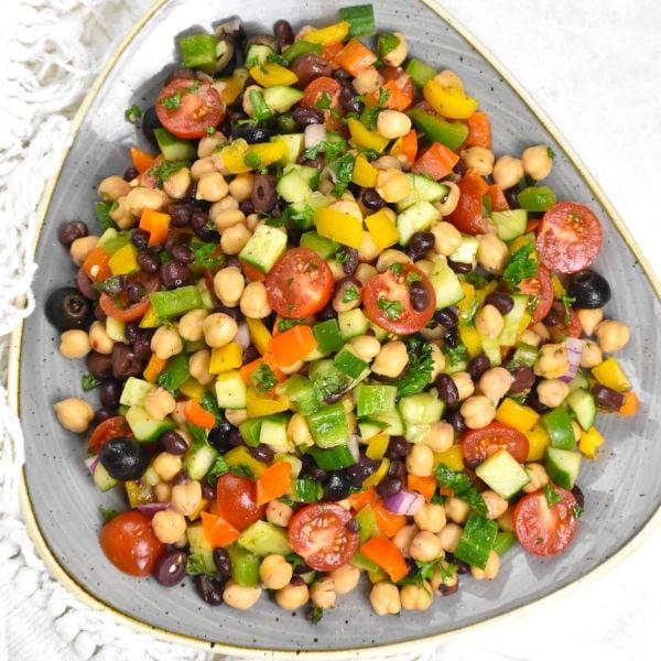 Balela Salad (Middle Eastern Bean Salad)