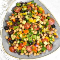 Balela salad.