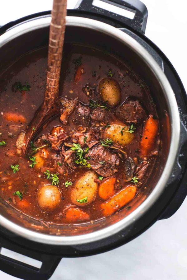 The 35 BEST Instant Pot Recipes - beef bourguignon.