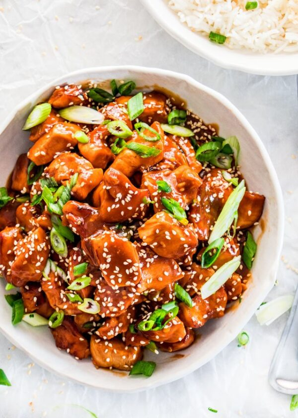 The 35 BEST Instant Pot Recipes - General Tso's chicken.