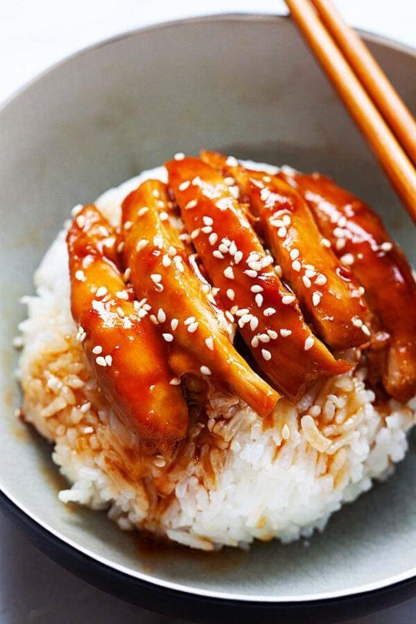 The 35 BEST Instant Pot Recipes - teriyaki chicken.