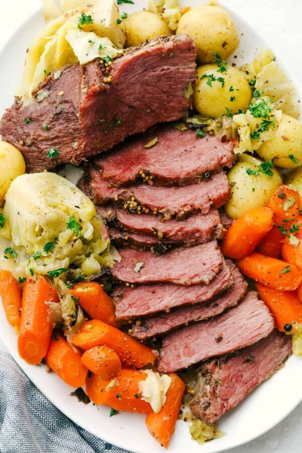 The 35 BEST Instant Pot Recipes - corned beef and cabbage.
