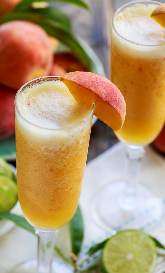The 30 BEST Mocktail Recipes - peach bellini.
