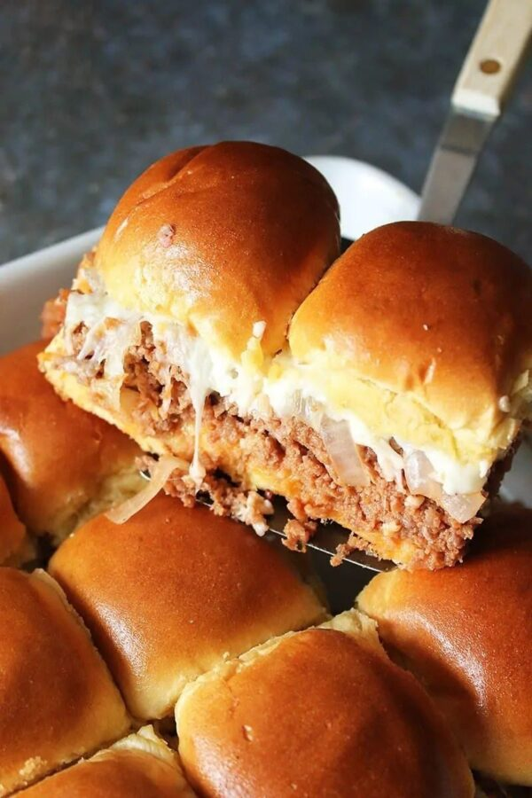 The 35 BEST Ground Pork Recipes - bbq sliders.