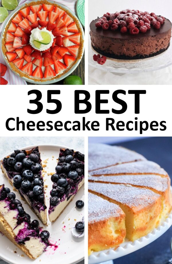 The 35 BEST Cheesecake Recipes