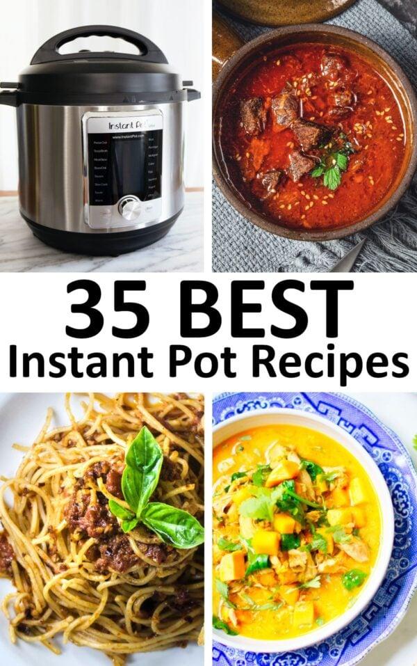 The 35 BEST Instant Pot Recipes.