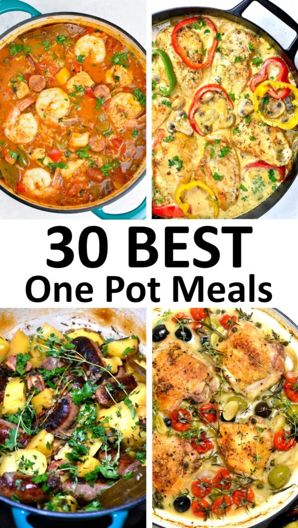 The 30 BEST One Pot Meals.