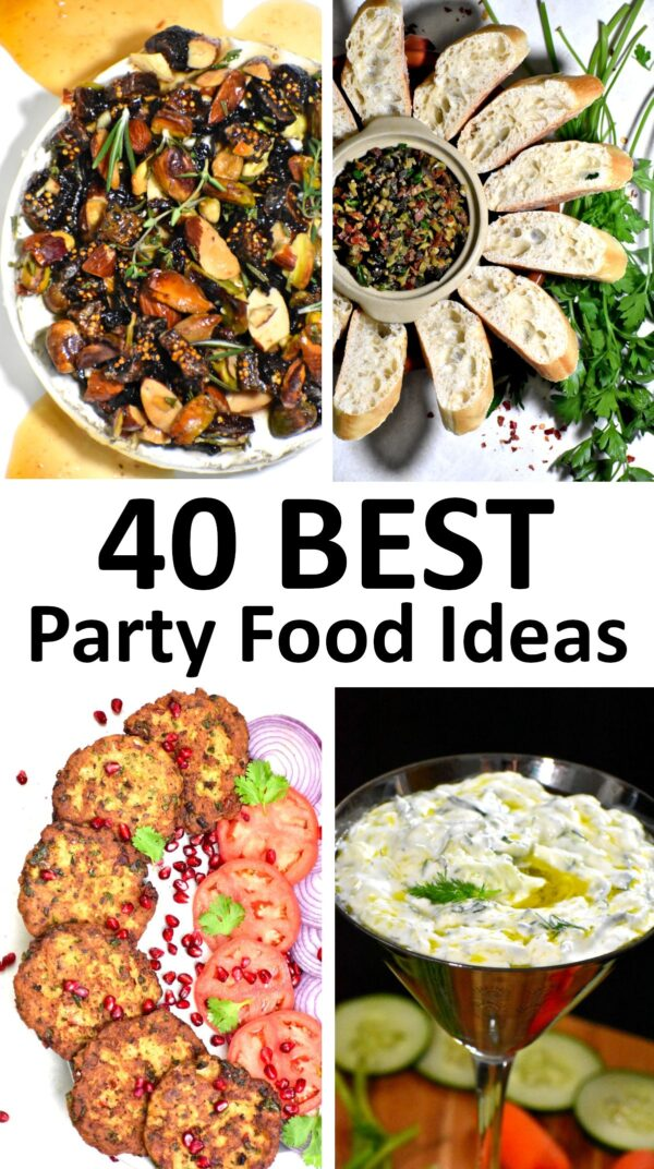 The 40 BEST Party Food Ideas.