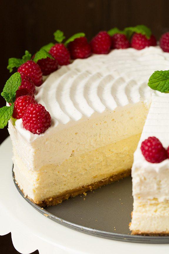 The 35 BEST Cheesecake Recipes - vanilla bean.
