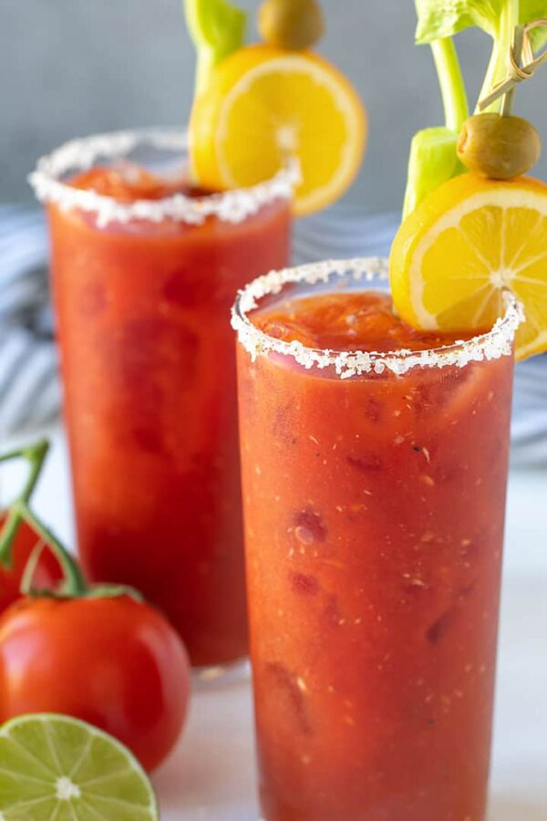 The 30 BEST Mocktail Recipes - virgin Mary.