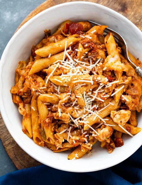The 30 BEST Quick Dinners - chicken pasta.