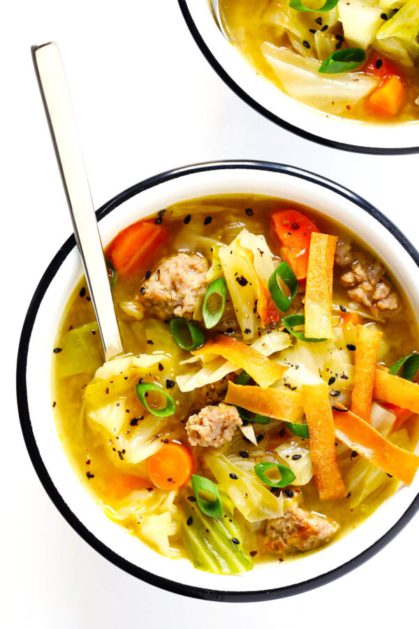 The 40 BEST Soup Recipes - egg roll.